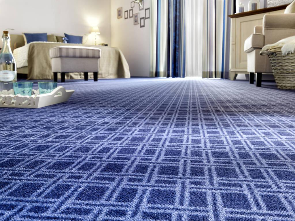 Fußboden Belag ~ Blauer fußbodenbelag fußbodentechnik hetmank