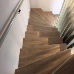 Treppenverlegung mit PVC